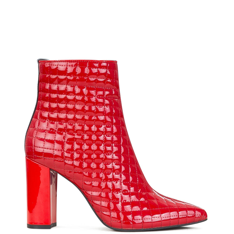 Μπότες Μποτάκια γυναικείες Ana Bonilla Κόκκινο 7560