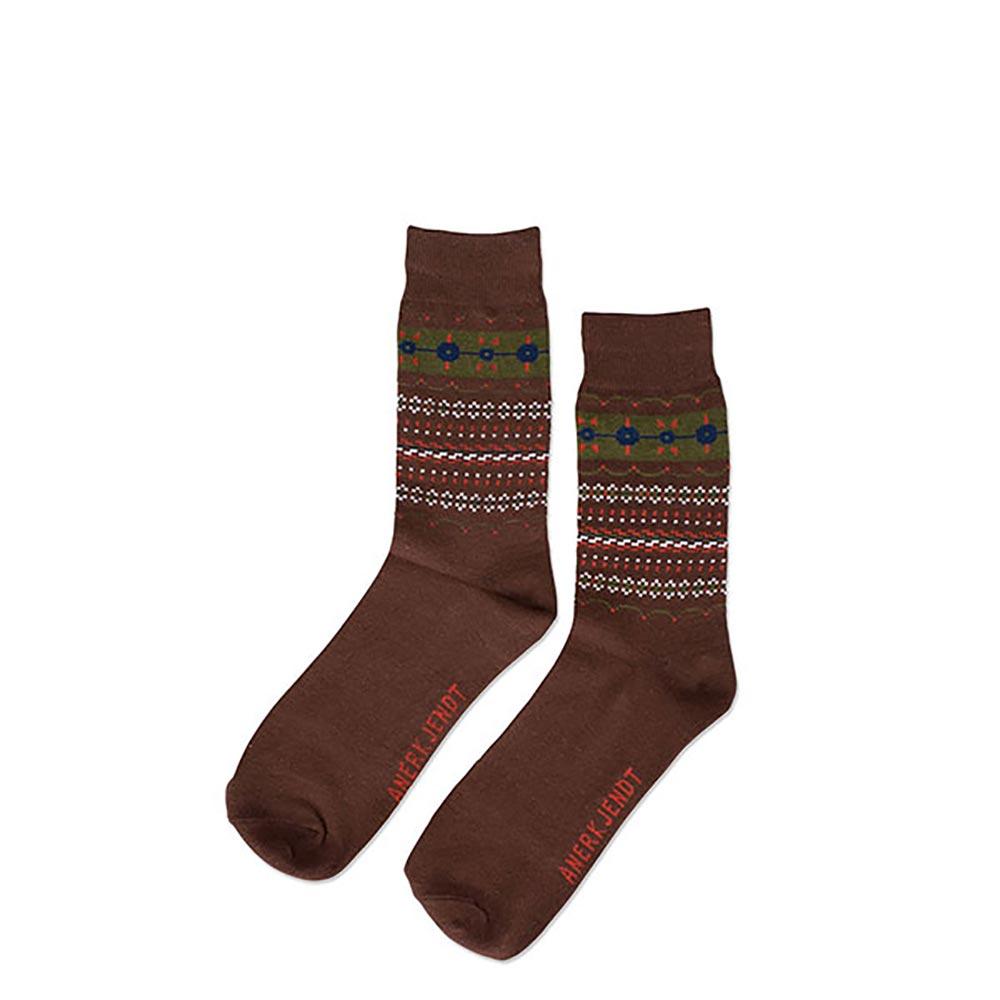 Κάλτσες ανδρικές Anerkjendt Καφέ - Έως 3 Άτοκες Δόσεις άνω των 60€