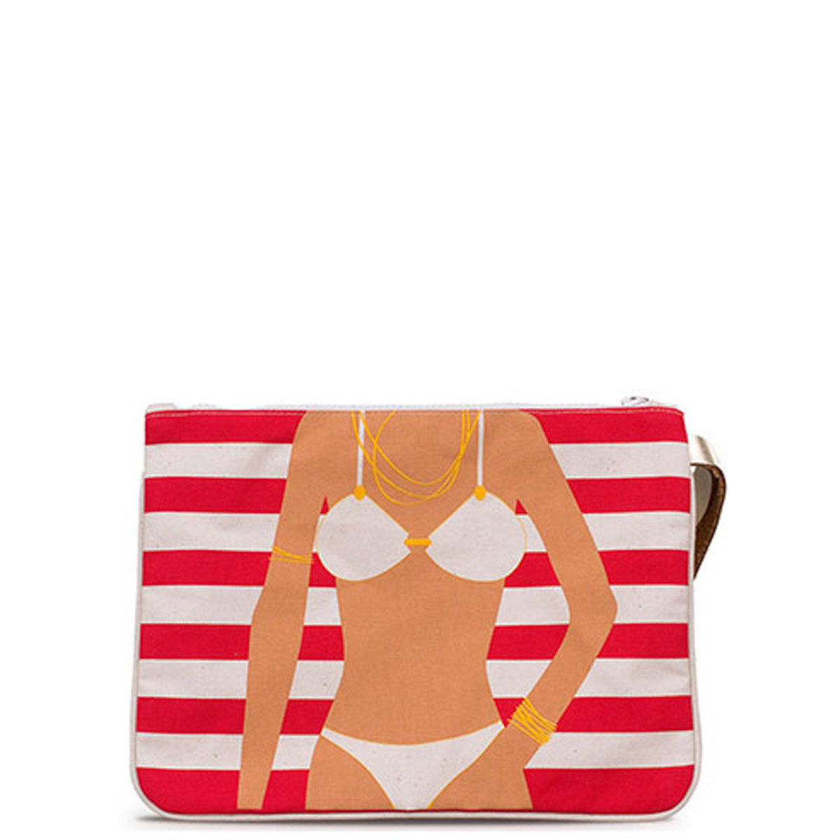 Clucth γυναικεία A to Z Greek Bikini CLUTCH - Έως 3 Άτοκες Δόσεις άνω των 60€