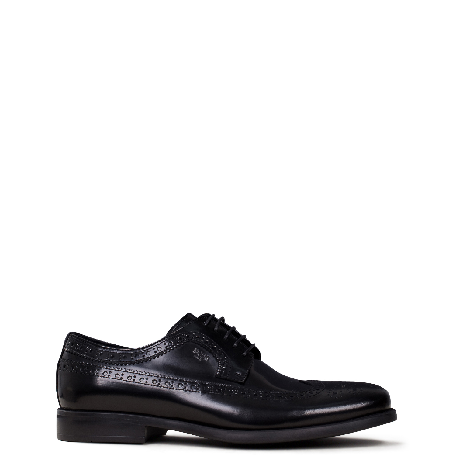 Oxfords - Brogues ανδρικά Boss Shoes Μαύρο M6215FLO