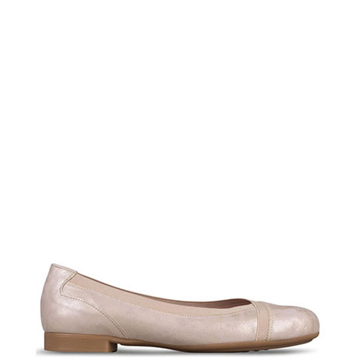 Flat γυναικεία Classico Donna Χρυσό - Έως 3 Άτοκες Δόσεις άνω των 60€