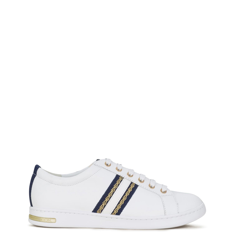 Sneakers γυναικεία Geox Λευκό-Μπλε JAYSEN