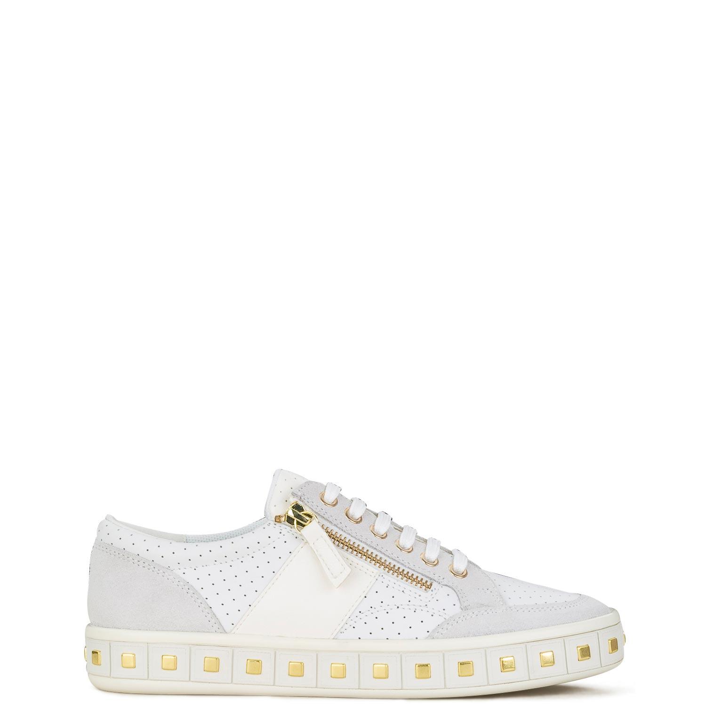 Sneakers γυναικεία Geox Λευκό LEELU