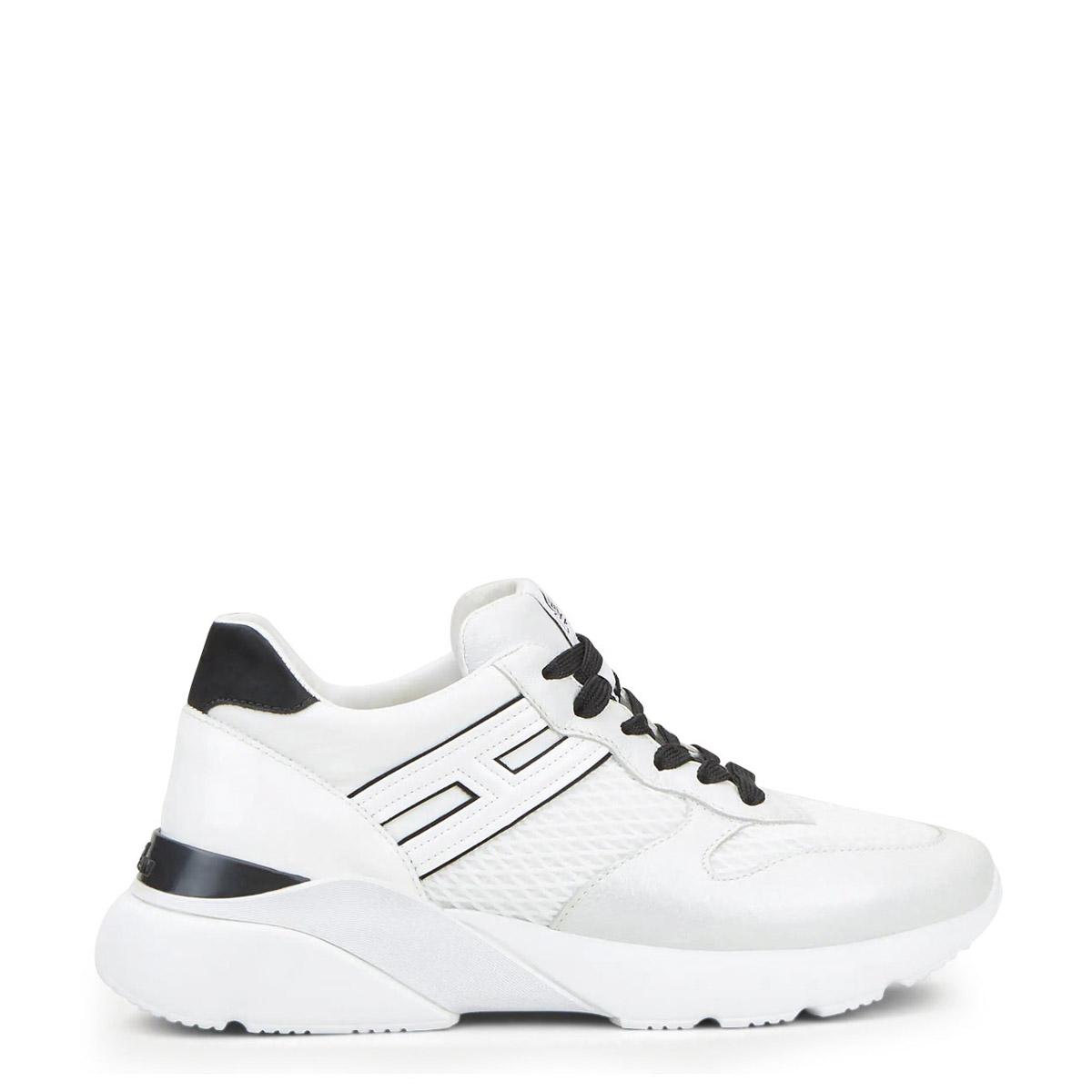Sneakers γυναικεία Hogan Ασπρο-Μαύρο H835 Active One