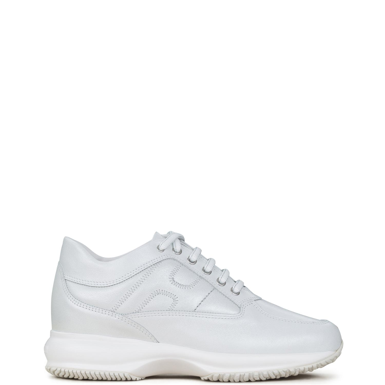 Sneakers γυναικεία Hogan Off White INTERACTIVE H ZIG ZAG