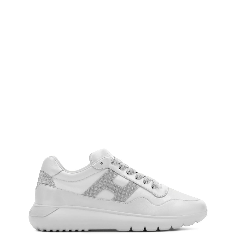 Sneakers γυναικεία Hogan Off White INTERACTIVE 3 ALLACCIATO