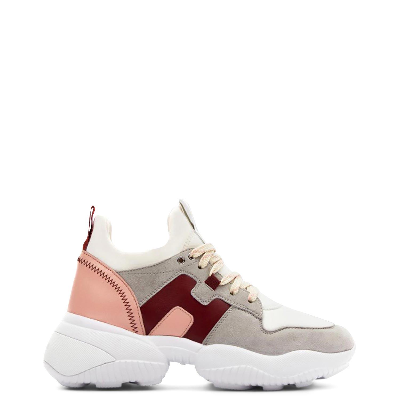Sneakers γυναικεία Hogan Multi-Pink INTERACTION SLIP ON