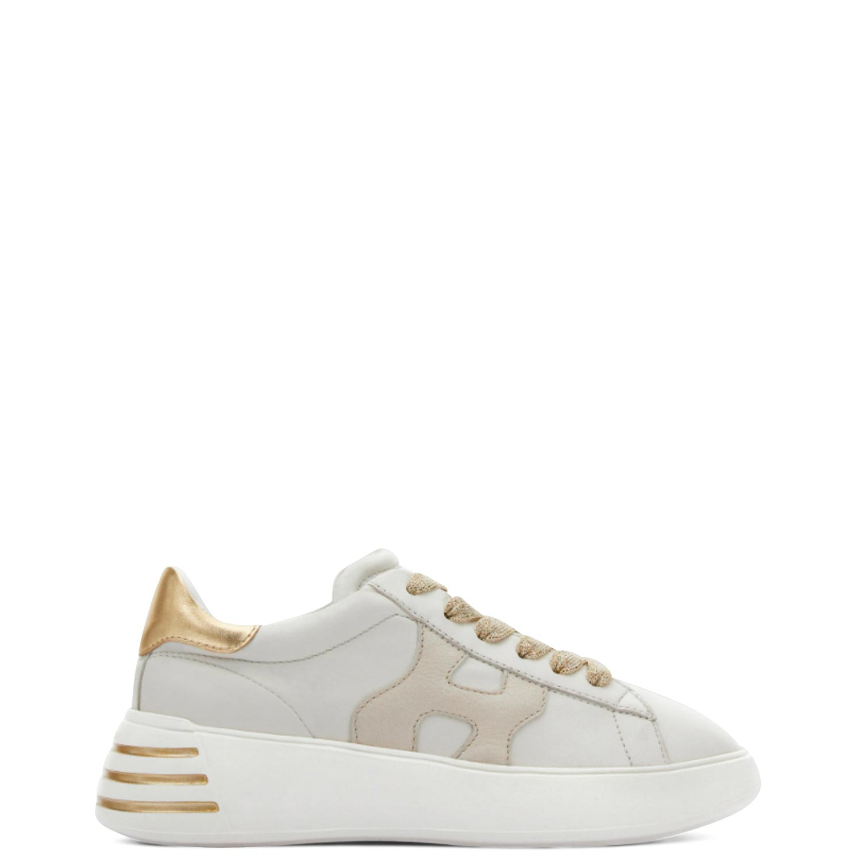 Sneakers γυναικεία Hogan Μπεζ REBEL ALLACCIATO H