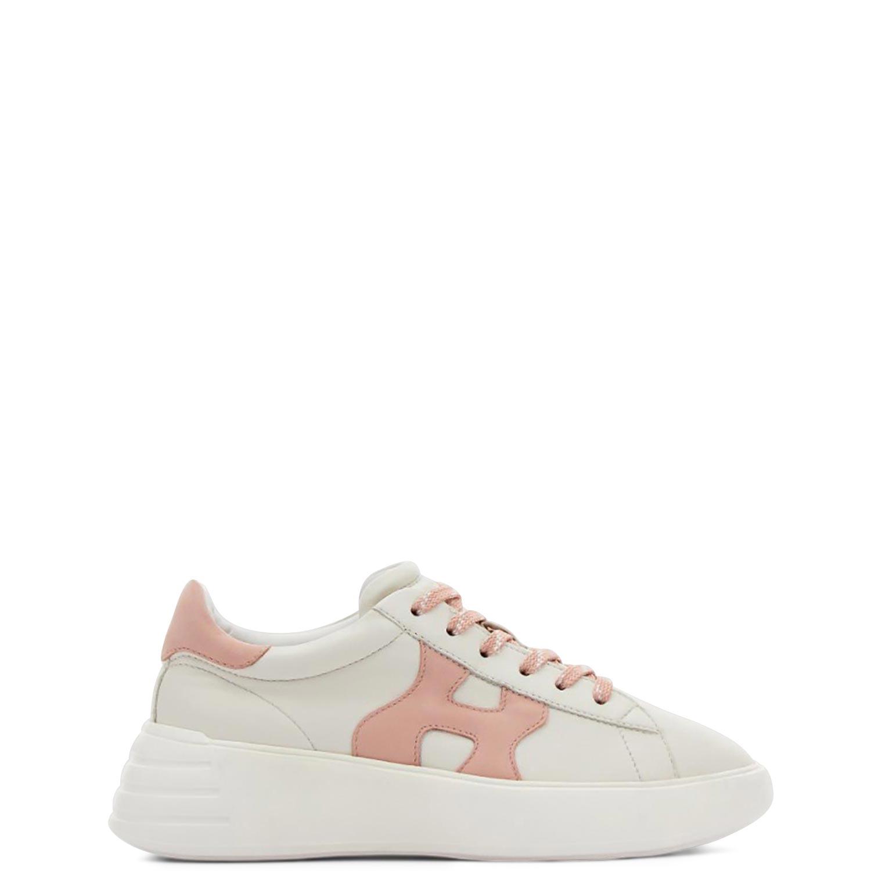 Sneakers γυναικεία Hogan Ροζ REBEL ALLACCIATO H