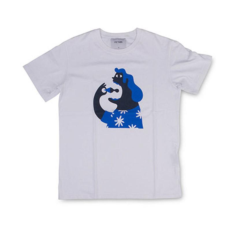 T-shirts ανδρικά Methen Λευκό MISS DAISY - Έως 3 Άτοκες Δόσεις άνω των 60€