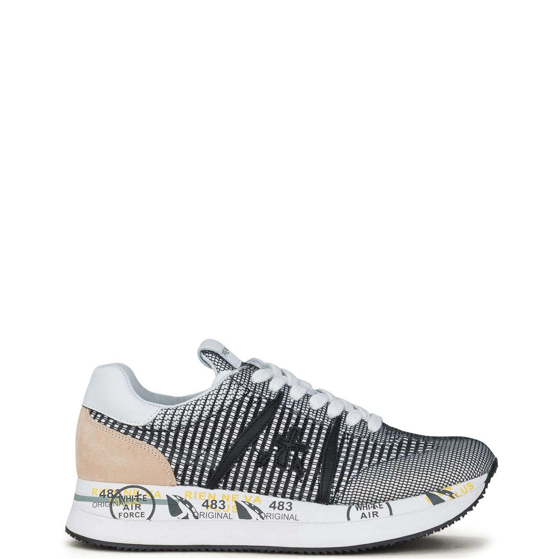 Sneakers γυναικεία Premiata Μαύρο CONNY VAR 5205