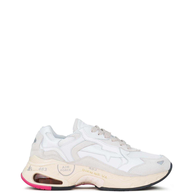 Sneakers γυναικεία Premiata Λευκό SHARKY D VAR 0023