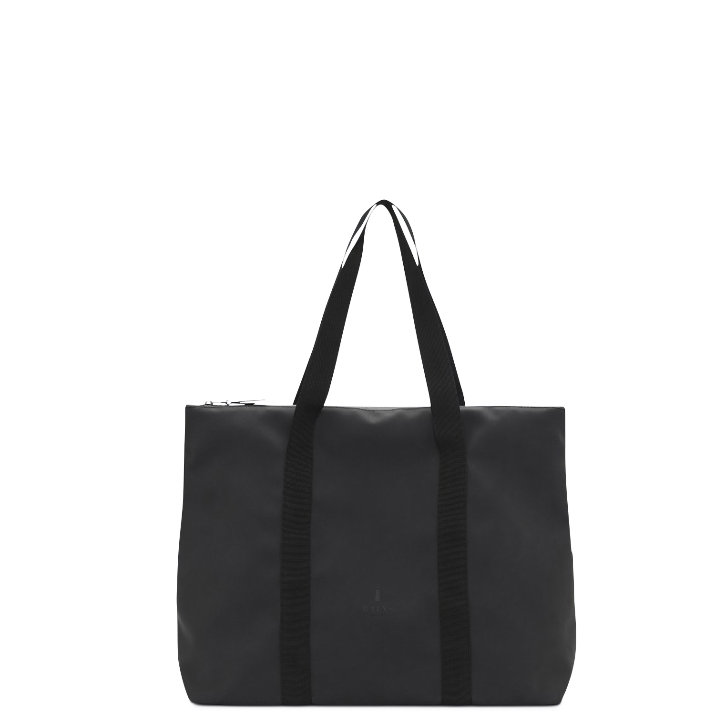 Shopping γυναικεία Rains Μαύρο 1307/City Tote - Έως 3 Άτοκες Δόσεις άνω των 60€