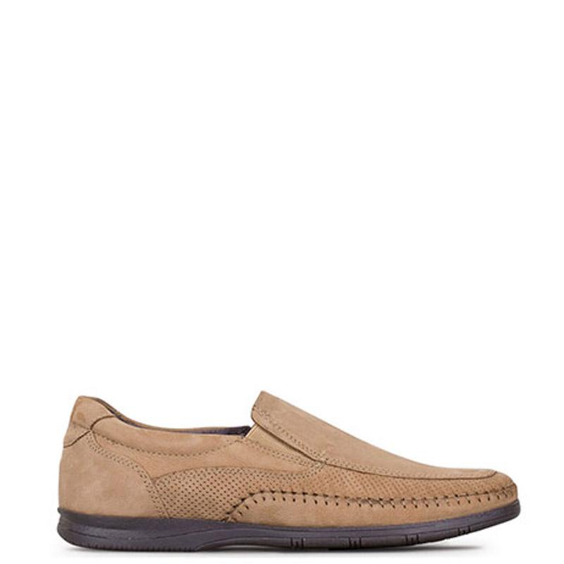 Παντοφλέ - slip-on ανδρικά S&G Shoes Μπεζ - Έως 3 Άτοκες Δόσεις άνω των 60€